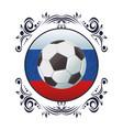 football sport cartoon vector image