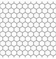 hexagon seamless pattern background vector image vector image