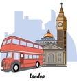 London England vector image vector image