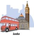 London England vector image