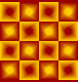 red and yellow abstract background checker vector image vector image