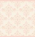 seamless flourish pattern vector image