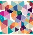 Abstract geometric seamless background vector image vector image