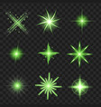 abstract green spring blur background vector image vector image