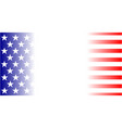 american flag background wallpaper vector image vector image