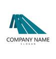 rocompany logo vector image vector image