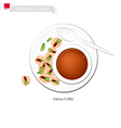 Traditional Gahwa Coffee Popular Dink in Bahrain vector image vector image