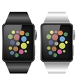 Two Smart Watches vector image vector image