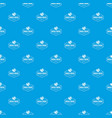world travel pattern seamless blue vector image vector image