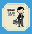 businessman design vector image