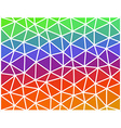 Abstract colored geometric low polygonal vector image vector image