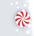candy lollipop vector image