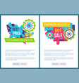 exclusive products best price springtime banners vector image vector image