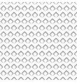 seamless waffle wafer pattern background vector image vector image