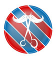 barber shop store vector image