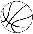 basketball vector image vector image