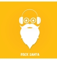 Christmas hipster poster for greeting card vector image