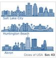 cities usa - huntington beach salt lake city