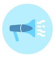 megaphone or loudspeaker icon alarm technology vector image