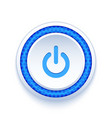 Power button icon vector image