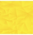 Set of Halftone Dots Dots on Yellow Background vector image vector image