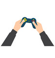 video game controls vector image vector image