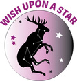 Wish Upon Star vector image vector image