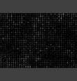 binary code abstract background vector image vector image