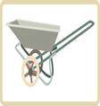 Cart mortar vector image