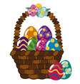 Easter eggs 3 vector image vector image