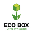 Eco Box Design vector image