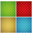 Four color checked background vector image vector image