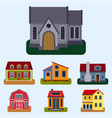 historical city modern world most visited famous vector image vector image