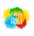 indian holiday holi vector image vector image