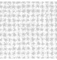 Light Scribble Cell Pattern Hand Drawn in Pencil vector image vector image