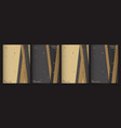 luxury premium cover design template vector image vector image