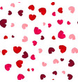 pink and red rose petals vector image