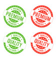 quality premium seal stamp vector image