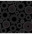 seamless background in tech style with gray vector image