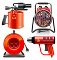 Thermal Power Tools vector image vector image