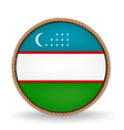 Uzbekistan Seal vector image vector image