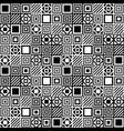 simple seamless geometric pattern 2 vector image