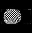 3d optical illusion distorted box