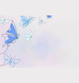aesthetic butterfly background blue border animal