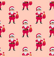 cute santa kids wearing christmas costumes vector image vector image