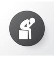 depression icon symbol premium quality isolated vector image