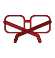 frame glasses vector image