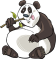 giant panda bear vector image