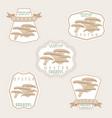 the mushroom vector image