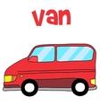 van car vector image vector image